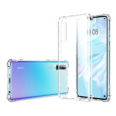 Funda Silicona Ultrafina Transparente K06 para Huawei P30 Claro