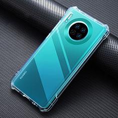 Funda Silicona Ultrafina Transparente K07 para Huawei Mate 30 Claro