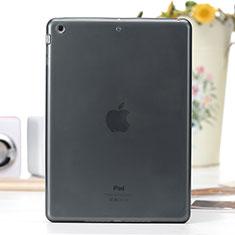 Funda Silicona Ultrafina Transparente para Apple iPad Air Gris