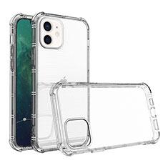 Funda Silicona Ultrafina Transparente para Apple iPhone 12 Claro