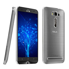 Funda Silicona Ultrafina Transparente para Asus Zenfone 2 Laser ZE500KL ZE550KL Claro