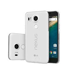Funda Silicona Ultrafina Transparente para Google Nexus 5X Claro
