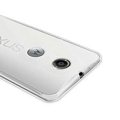 Funda Silicona Ultrafina Transparente para Google Nexus 6 Claro