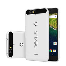 Funda Silicona Ultrafina Transparente para Google Nexus 6P Claro