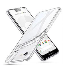 Funda Silicona Ultrafina Transparente para Google Pixel 3 XL Claro