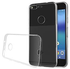 Funda Silicona Ultrafina Transparente para Google Pixel XL Claro