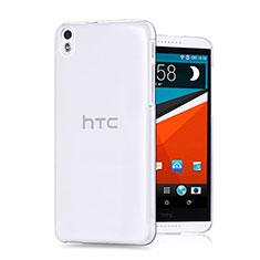 Funda Silicona Ultrafina Transparente para HTC Desire 816 Claro