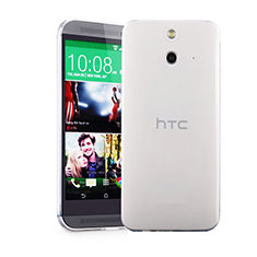 Funda Silicona Ultrafina Transparente para HTC One E8 Claro