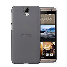 Funda Silicona Ultrafina Transparente para HTC One E9 Plus Gris