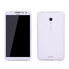 Funda Silicona Ultrafina Transparente para Huawei Ascend Mate 2 Blanco