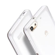 Funda Silicona Ultrafina Transparente para Huawei G Play Mini Claro