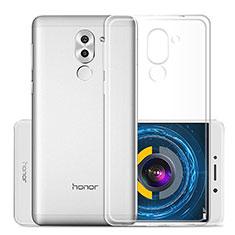 Funda Silicona Ultrafina Transparente para Huawei Honor 6X Pro Claro