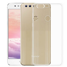 Funda Silicona Ultrafina Transparente para Huawei Honor 8 Claro