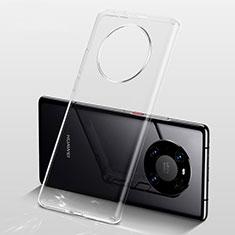 Funda Silicona Ultrafina Transparente para Huawei Mate 40 Claro