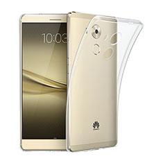 Funda Silicona Ultrafina Transparente para Huawei Mate 8 Claro