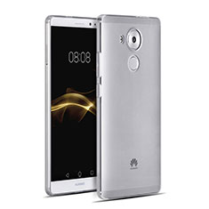 Funda Silicona Ultrafina Transparente para Huawei Mate 8 Gris