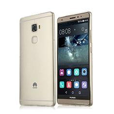 Funda Silicona Ultrafina Transparente para Huawei Mate S Blanco