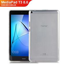 Funda Silicona Ultrafina Transparente para Huawei MediaPad T3 8.0 KOB-W09 KOB-L09 Claro