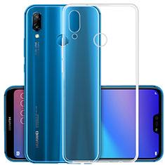 Funda Silicona Ultrafina Transparente para Huawei Nova 3 Claro