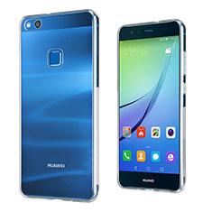 Funda Silicona Ultrafina Transparente para Huawei P10 Lite Claro