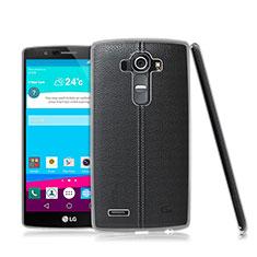 Funda Silicona Ultrafina Transparente para LG G4 Claro