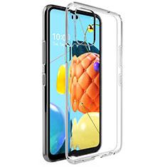 Funda Silicona Ultrafina Transparente para LG K52 Claro