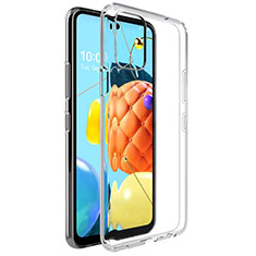 Funda Silicona Ultrafina Transparente para LG K62 Claro