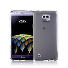 Funda Silicona Ultrafina Transparente para LG X Cam Blanco
