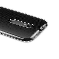 Funda Silicona Ultrafina Transparente para Motorola Moto G (3rd Gen) Claro