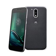 Funda Silicona Ultrafina Transparente para Motorola Moto G4 Plus Claro