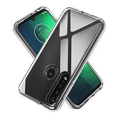 Funda Silicona Ultrafina Transparente para Motorola Moto G8 Plus Claro
