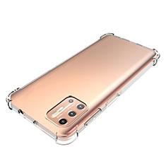 Funda Silicona Ultrafina Transparente para Motorola Moto G9 Plus Claro