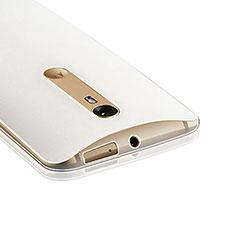 Funda Silicona Ultrafina Transparente para Motorola Moto X Style Claro