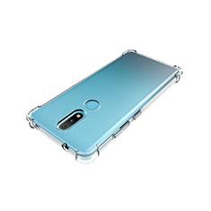 Funda Silicona Ultrafina Transparente para Nokia 2.4 Claro