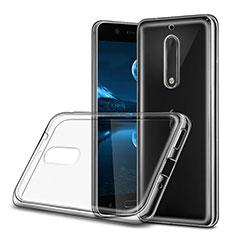 Funda Silicona Ultrafina Transparente para Nokia 5 Claro