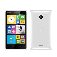 Funda Silicona Ultrafina Transparente para Nokia X2 Dual Sim Blanco