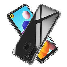 Funda Silicona Ultrafina Transparente para Samsung Galaxy A21 Claro