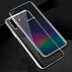 Funda Silicona Ultrafina Transparente para Samsung Galaxy A70S Claro