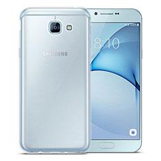 Funda Silicona Ultrafina Transparente para Samsung Galaxy A8 (2016) A8100 A810F Claro