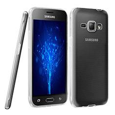 Funda Silicona Ultrafina Transparente para Samsung Galaxy J1 (2016) J120F Claro