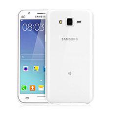 Funda Silicona Ultrafina Transparente para Samsung Galaxy J3 Claro