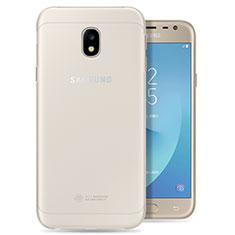 Funda Silicona Ultrafina Transparente para Samsung Galaxy J3 Pro (2017) Claro