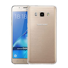 Funda Silicona Ultrafina Transparente para Samsung Galaxy J5 Duos (2016) Claro