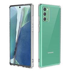 Funda Silicona Ultrafina Transparente para Samsung Galaxy Note 20 5G Claro