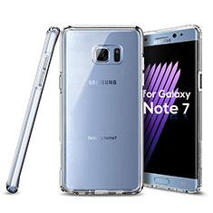 Funda Silicona Ultrafina Transparente para Samsung Galaxy Note 7 Claro