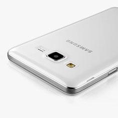 Funda Silicona Ultrafina Transparente para Samsung Galaxy On5 Pro Claro