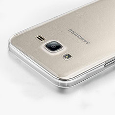 Funda Silicona Ultrafina Transparente para Samsung Galaxy On7 Pro Claro