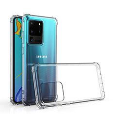 Funda Silicona Ultrafina Transparente para Samsung Galaxy S20 Ultra Claro
