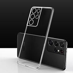 Funda Silicona Ultrafina Transparente para Samsung Galaxy S21 Ultra 5G Claro