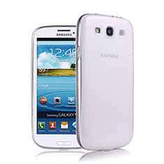 Funda Silicona Ultrafina Transparente para Samsung Galaxy S3 III LTE 4G Blanco